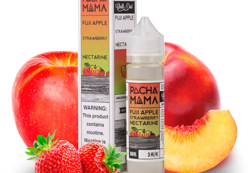 Pachamama Fuji Apple Strawberry Nectarine 60ml