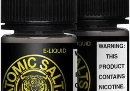 Atomic Salts Lemon Freeze 30ml