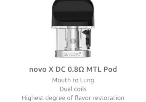 SMOK Novo X DC 0.8ohm Pod