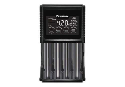 Pownergy Pownergy 4 Bay Charger