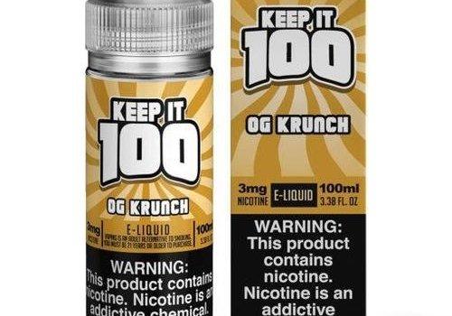 Keep It 100 OG Krunch 100ml 00mg