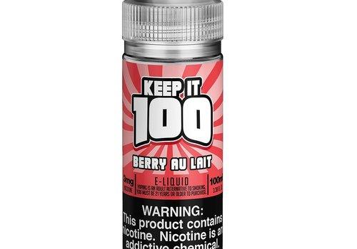 Keep It 100 Berry Au Lait 100ml 00mg