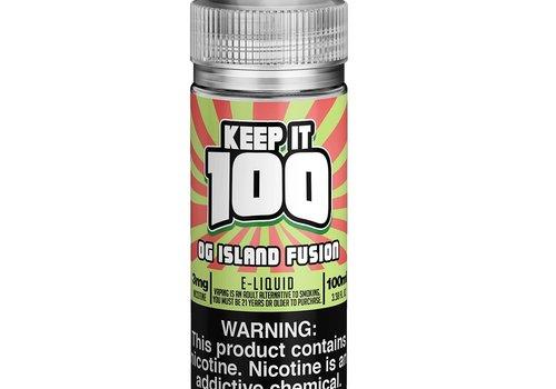 Keep It 100 OG Island Fusion 100ml 00mg