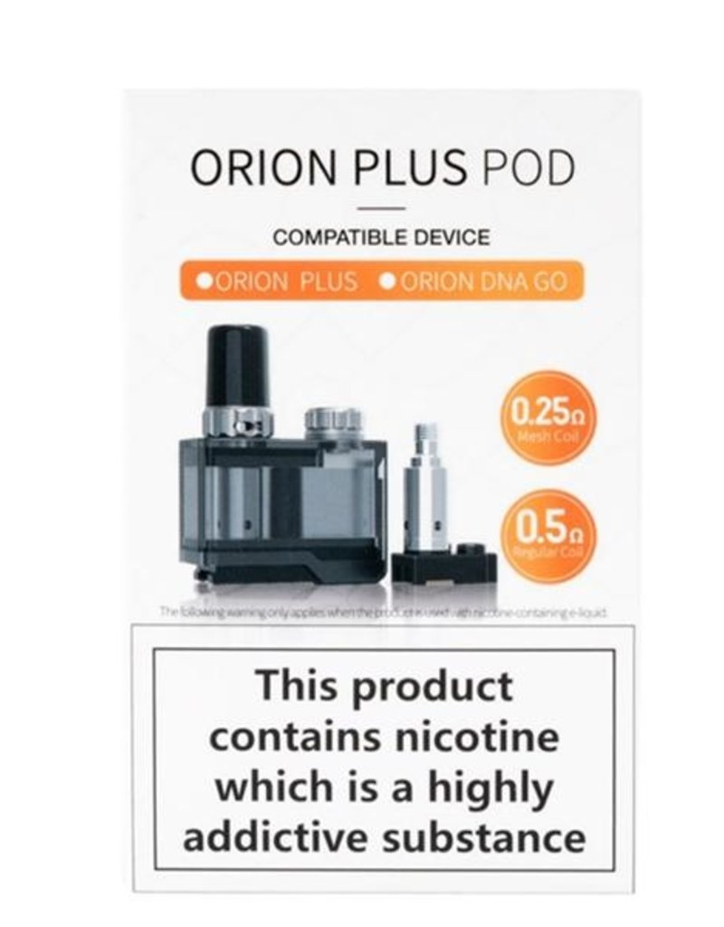 Lost Vape Lost Vape Orion Plus Replacement Pod With 2 Coils