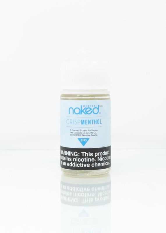 Naked Naked 100 - Crisp Menthol - 60ml