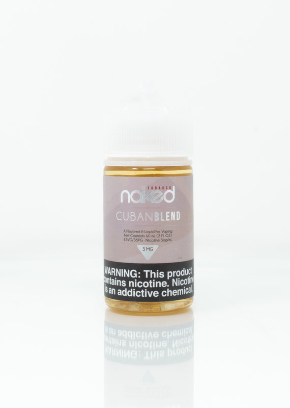 Naked Naked 100 - Cuban Blend - 60ml