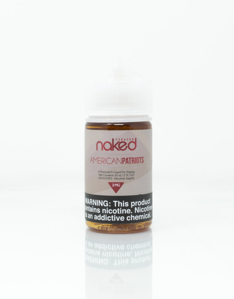 Naked Naked 100 - American Patriots - 60ml