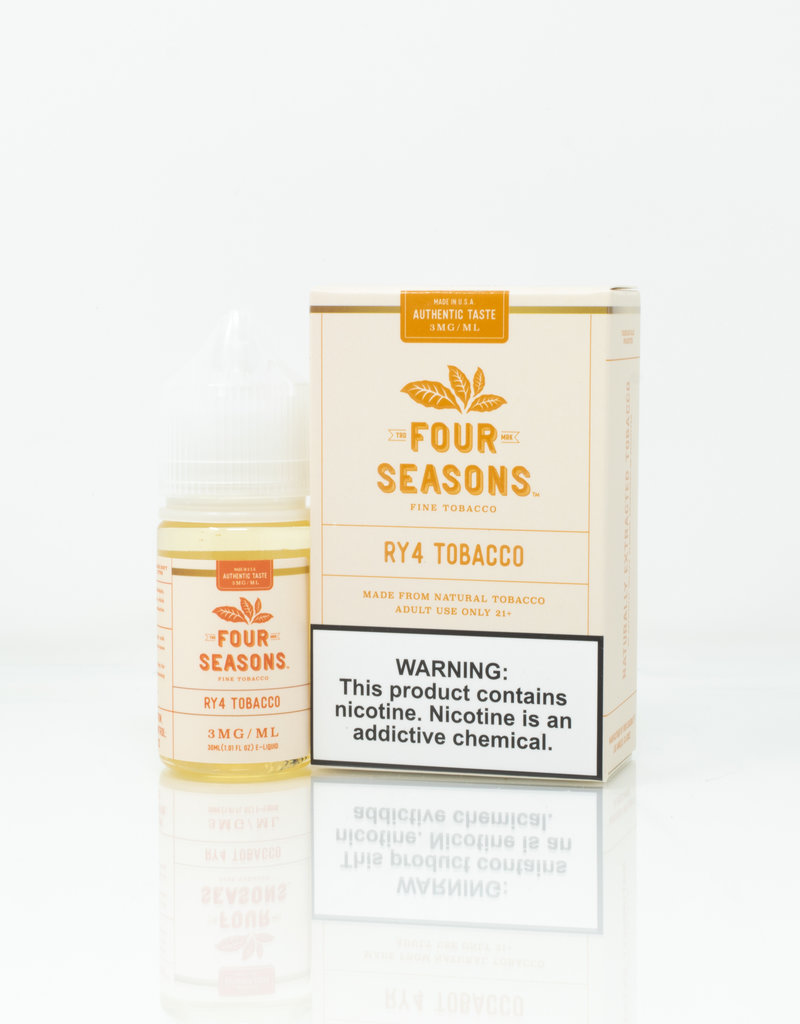 Four Seasons Four Seasons - RY4 Tobacco - 30ml