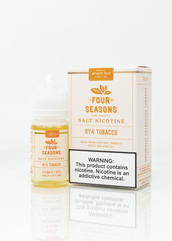 Four Seasons Four Seasons  Salt - RY4 Tobacco - 30ml
