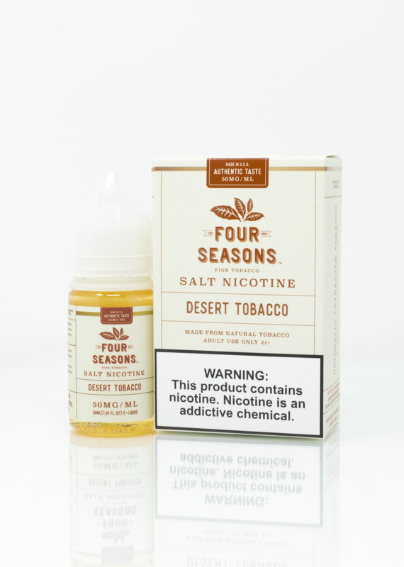 Four Seasons Four Seasons  Salt - Desert Tobacco - 30ml