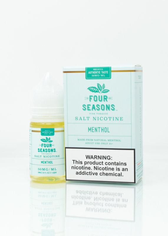 Four Seasons Four Seasons  Salt - Menthol - 30ml