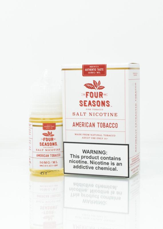 Four Seasons Four Seasons  Salt - American Tobacco - 30ml