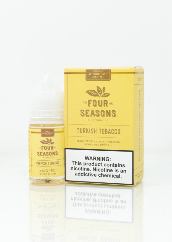Four Seasons Four Seasons - Turkish Tobacco - 30ml