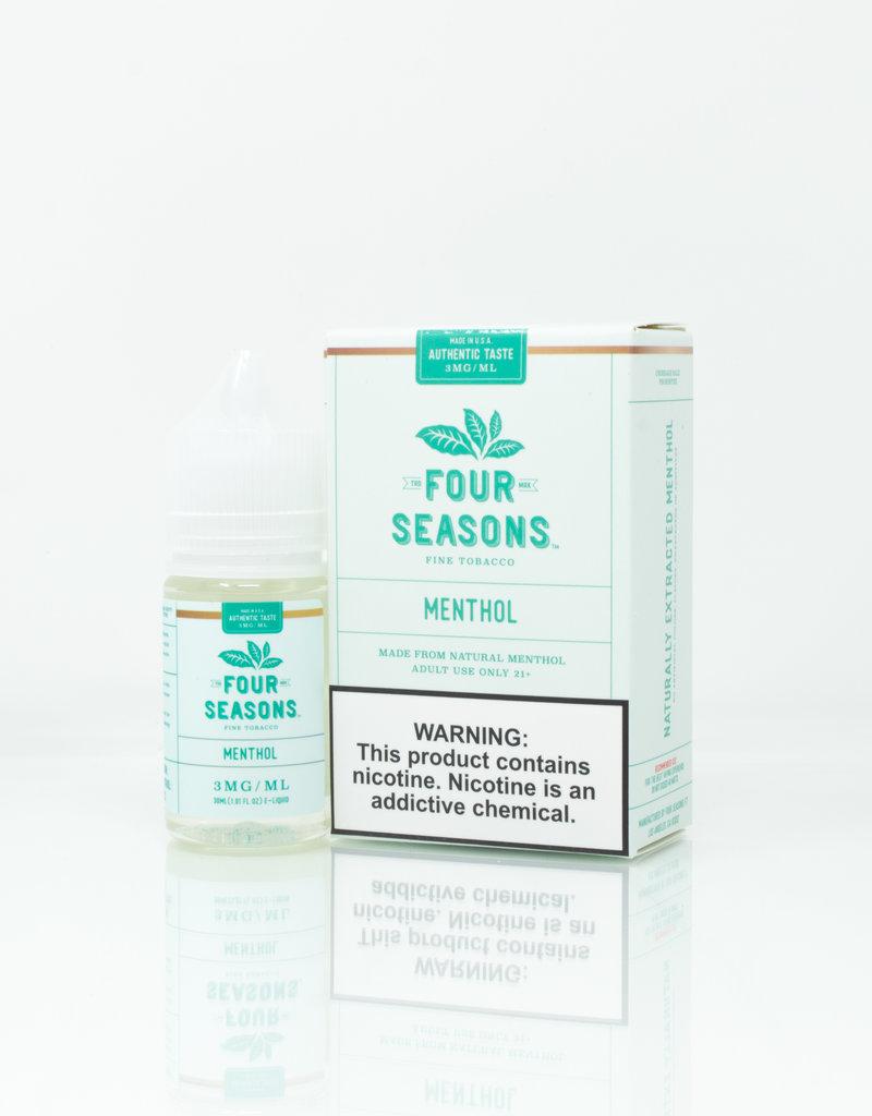 Four Seasons Four Seasons - Menthol - 30ml