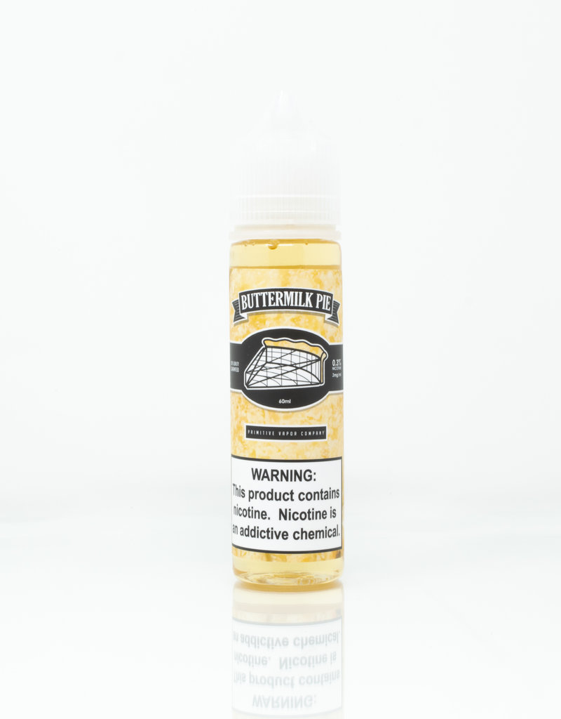 Primitive Vapor Primitive Vapor - Buttermilk Pie  60ml