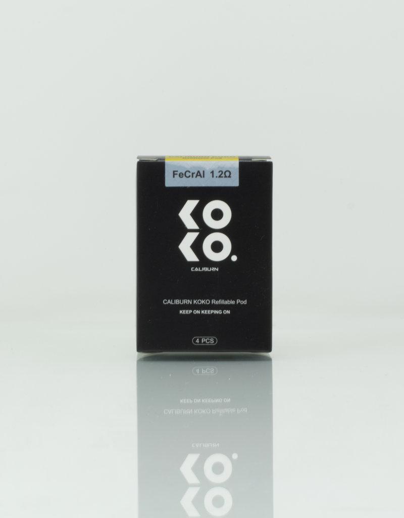 Uwell Caliburn Koko Replacement Pods 1.2 ohm - 4 Pack