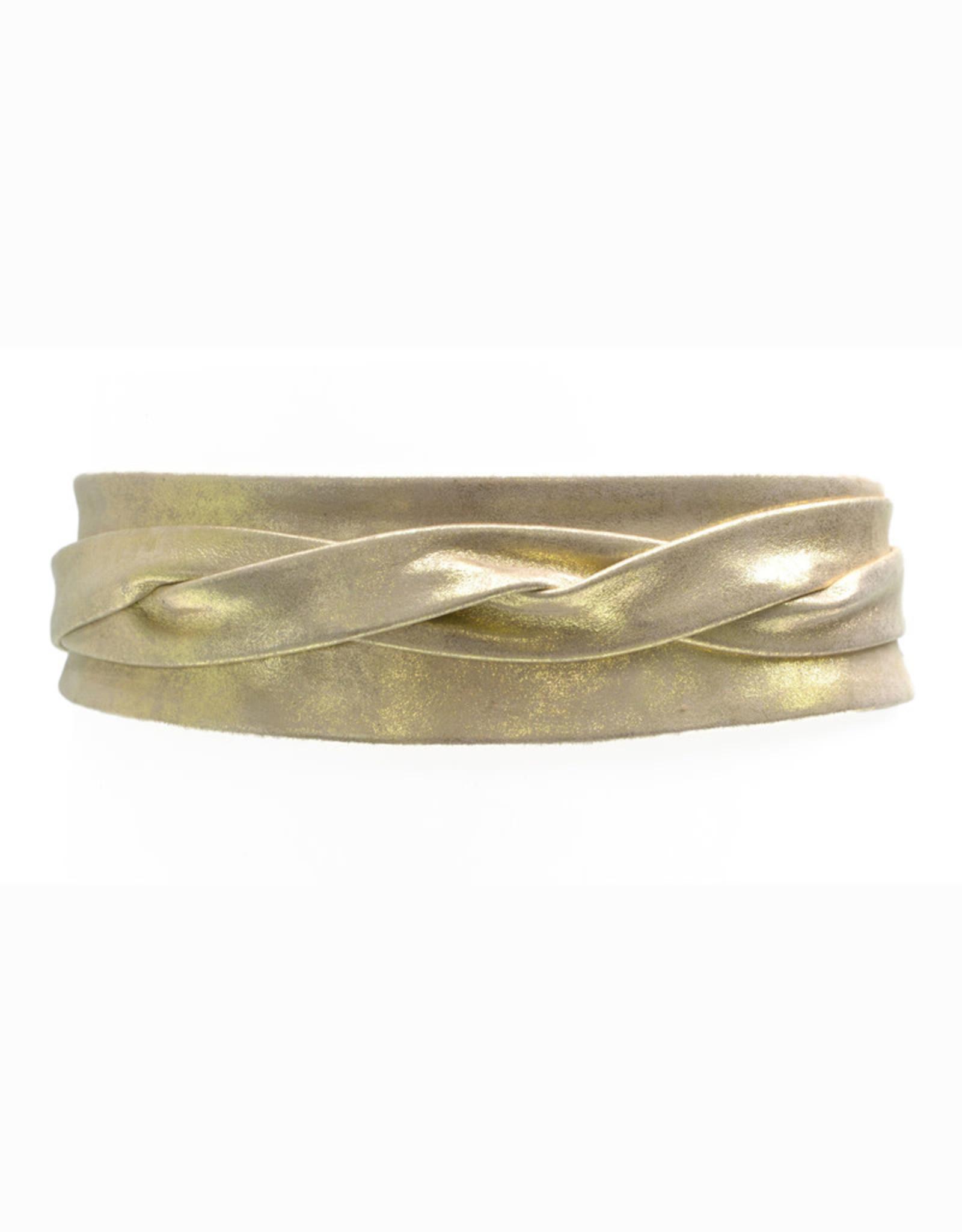 ADA Classic Wrap Belt Metallic