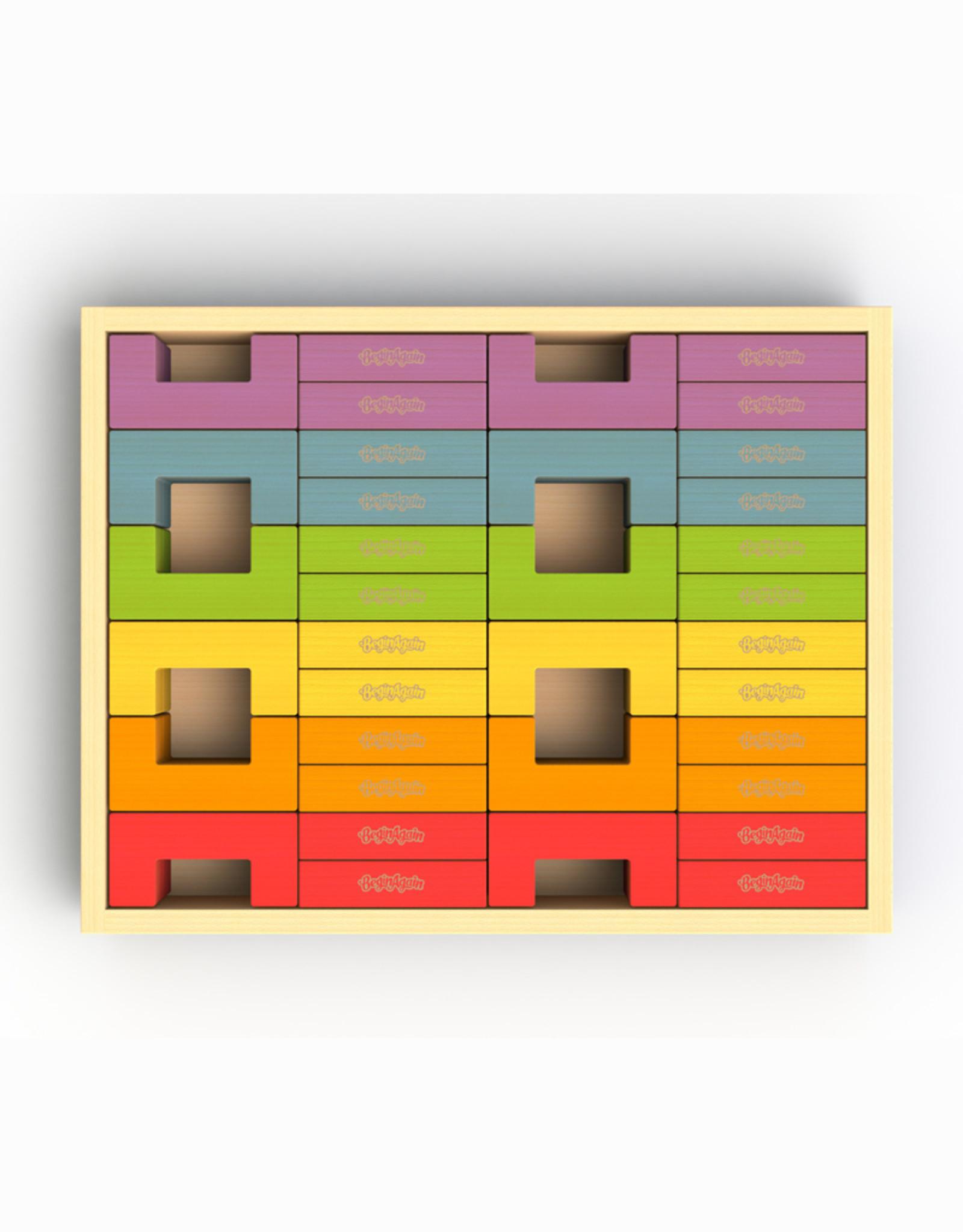 BeginAgain U Build It Deluxe Set/48 pieces