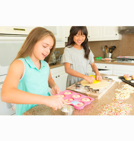 Handstand Kitchen Donut Baking Bundle: Donut Baking Party & Apron Set