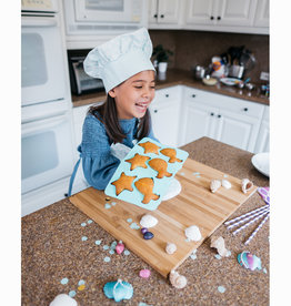 Handstand Kitchen Mermaid Baking Bundle: Mermaid Baking Party & Parent/Child Apron Set