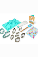 Handstand Kitchen Ice Cream Parlor Baking Bundle: Ice Cream Baking Set & Sprinkles Aprons