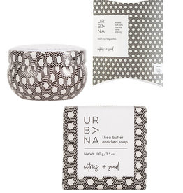 European Soap Company Urbana Self Care Bundle