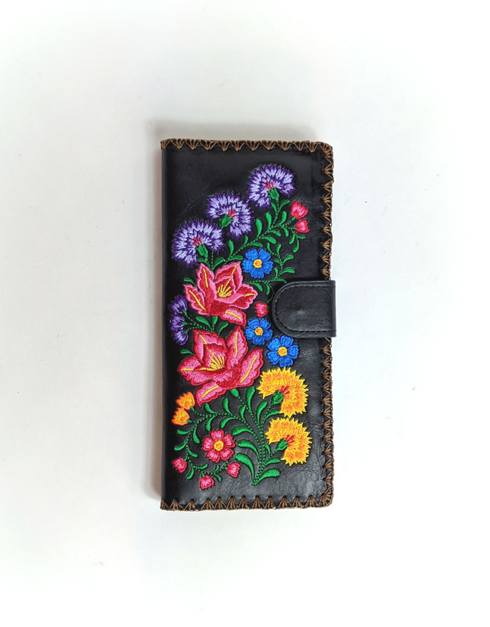 Lavishy Lavishy Embroidered Wallet (Florals)