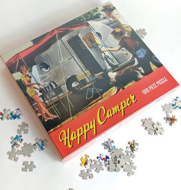 Gibbs Smith Happy Camper Puzzle