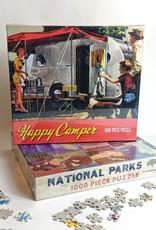 Gibbs Smith Happy Camper Puzzle