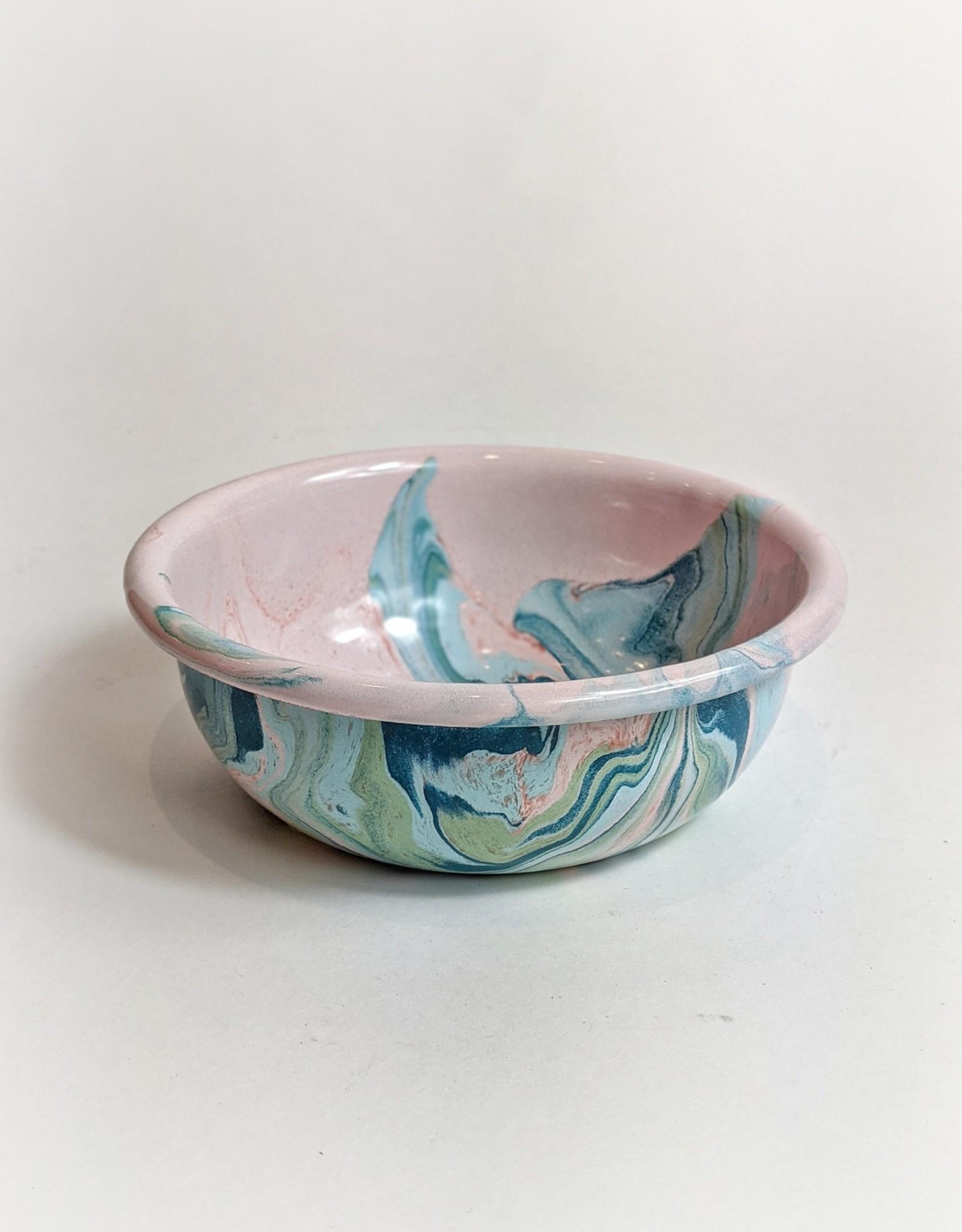 Crow Canyon Enamel Swirl Bowl