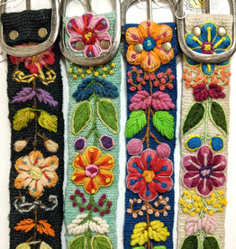 MMPeruvian Embroidered Belt, size Med