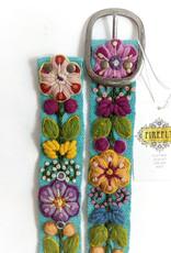 MMPeruvian Embroidered Belt, size Small