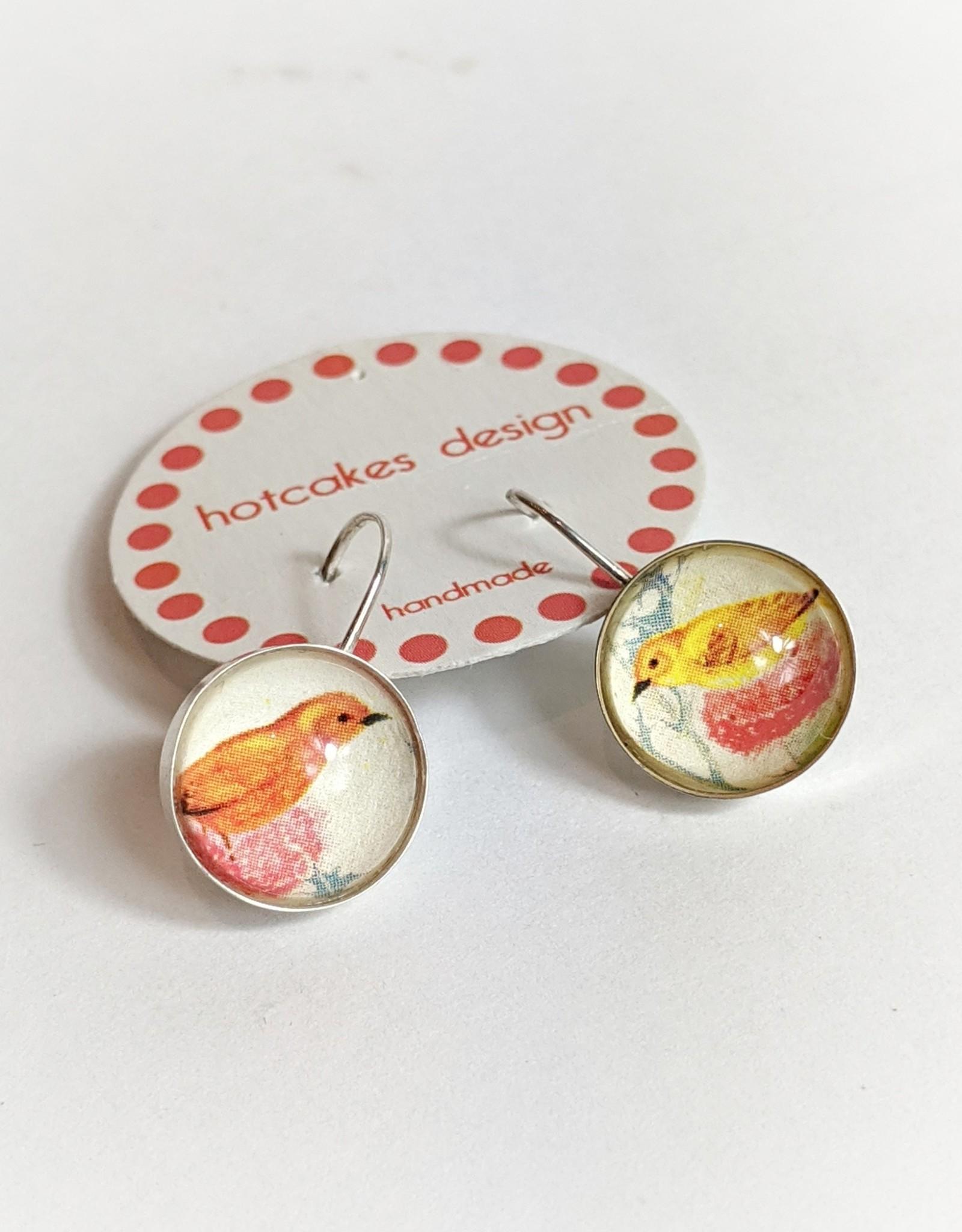 Hotcakes Design Hotcakes Art Earrings