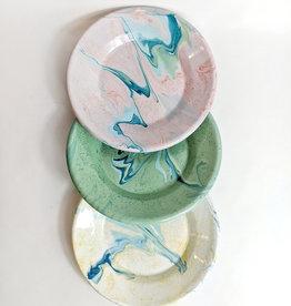 Crow Canyon Enamel Swirl Plate
