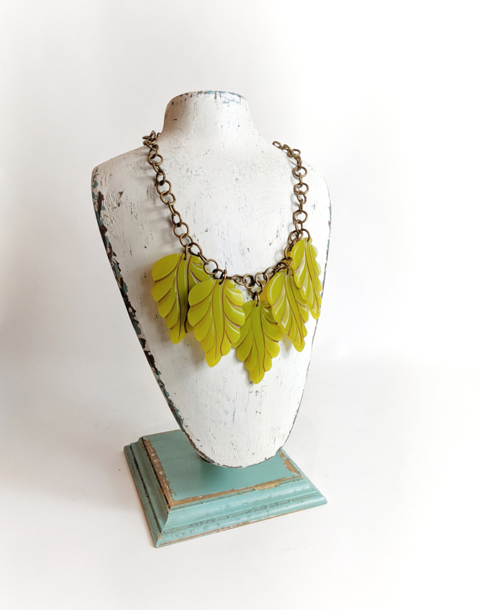 Hotcakes Design Hotcakes Five Leaf Necklace