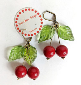 Hotcakes Design Cherry Earrings