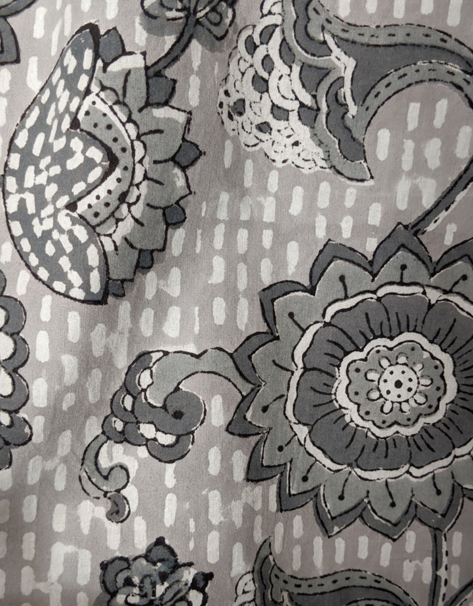 Natural Habitat Indian Cotton Robe