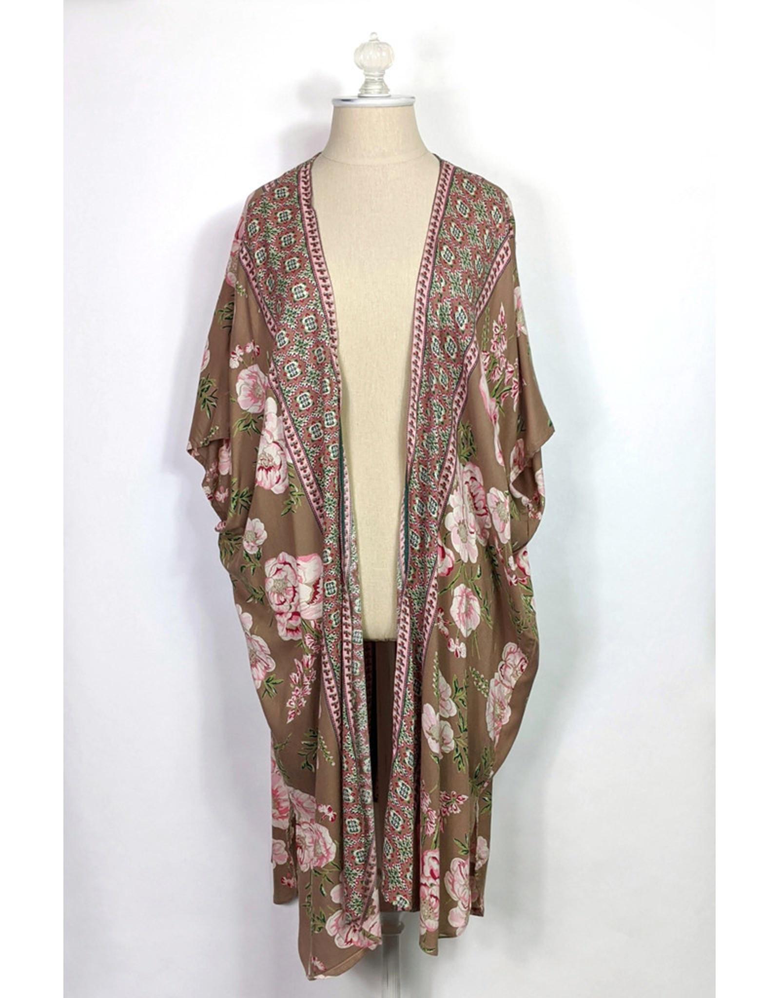 Angie Dove Print Kimono