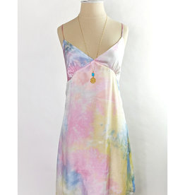 Le Lis Pastel Rainbow Slip Dress