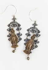 Tara Gasparian Mary Chandelier Earring
