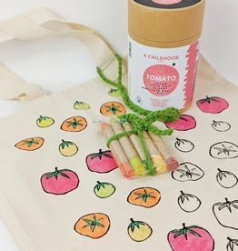 Childhood Store Color Your Tote Tomato