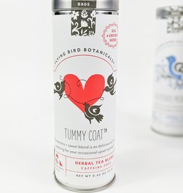 Flying Bird Tummy Coat Tea