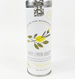 Flying Bird White Lemon Ginger Tea