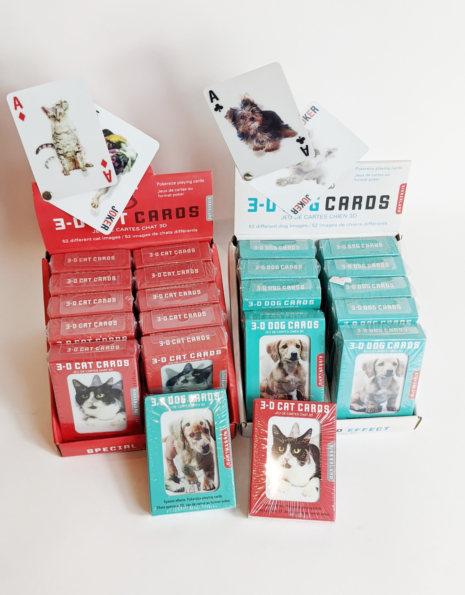 Kikkerland 3D Playing Cards