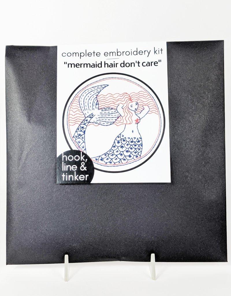 Hook, Line & Tinker Embroidery Kit