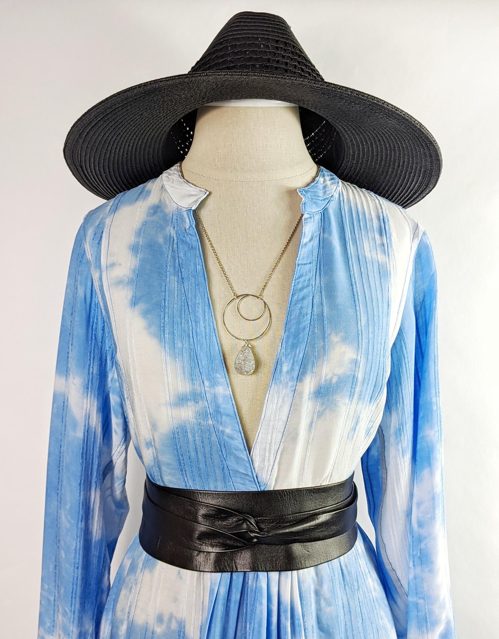 Skylar Madison Blue Tie Dye Tunic