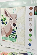 elle cree Deer with Huckleberries Paint by Number