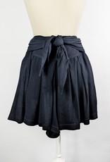 Mustard Seed Black Slouchy Shorts w/Tie