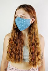 Sans Souci Cotton Face Mask w/Filter Pocket