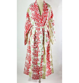 Natural Habitat Indian Cotton Robe Reef Coral